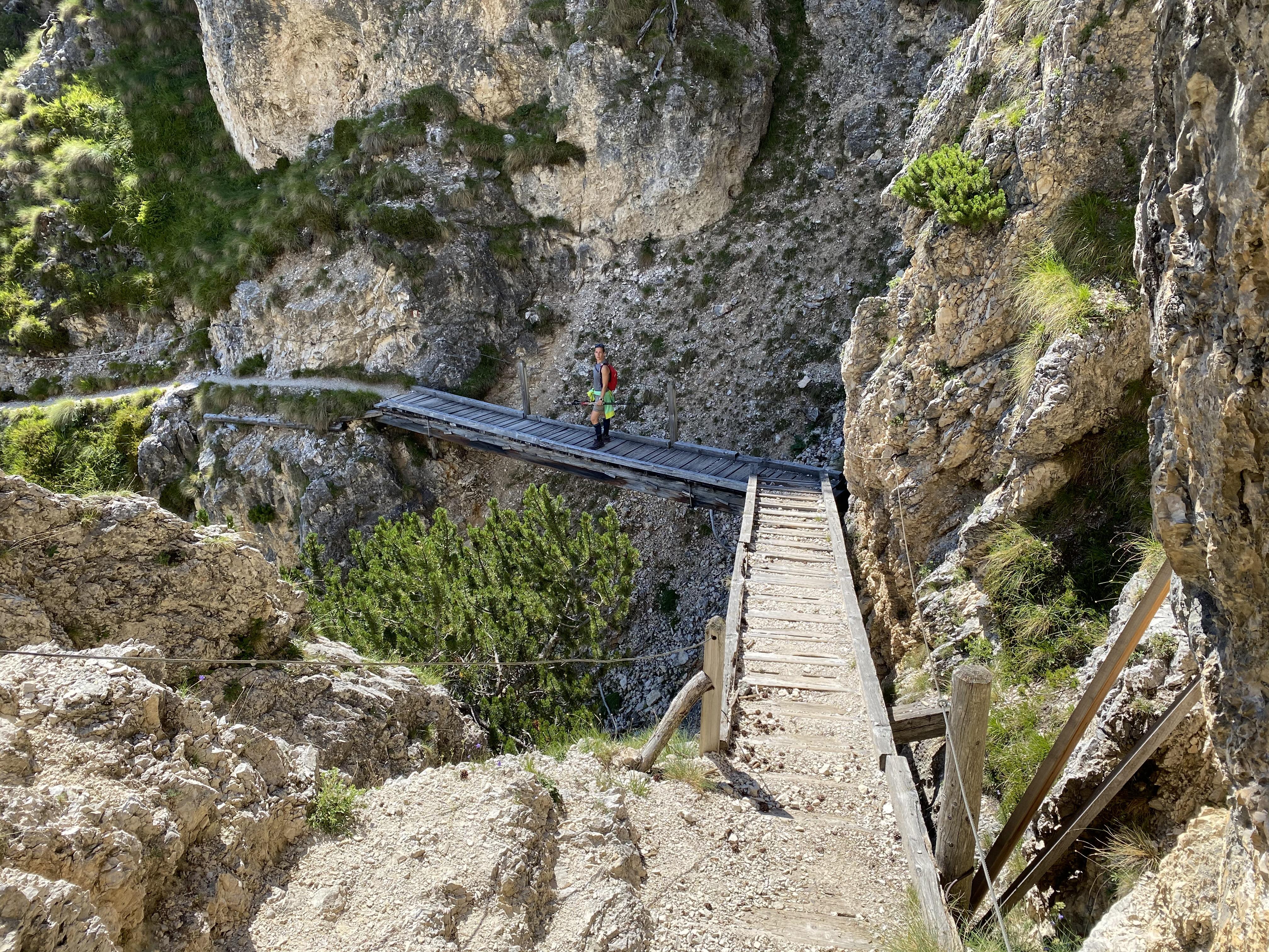 Sentiero rifugio Bolzano