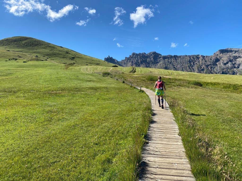 Sentiero  rifugio alpe di tires