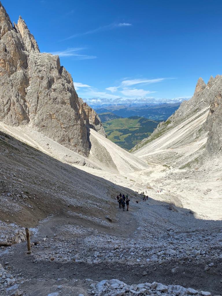 Sentiero da Rifugio Vicenza e Rifugio Toni Demetz